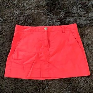 Theory Linen Miniskirt